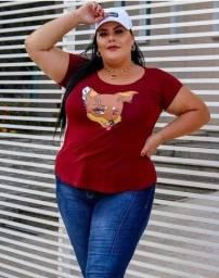T-shirt plus atacado(LEIA O ANÚNCIO)