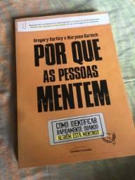"""Livro """"Por que as pessoas mentem"""""""