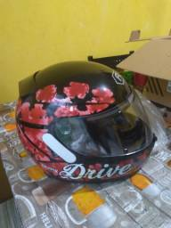 Capacete Fly Drive HG Cherry