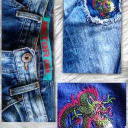 Calça Custumizada Dragons