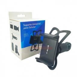 COD:0186 Suporte Veicular para Celular: LE-011 - It Blue