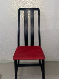 Título do anúncio: Cadeira de Puro Mogno