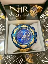 Relógio Invicta thunderbolt azul lacrado