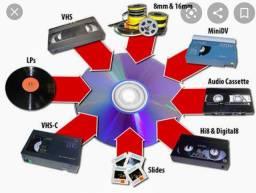 Conversão de fitas de video para MP4 (pendrive)