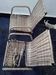 Vende se Jogo de cadeira varanda completo
