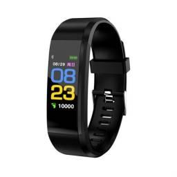 SmartWatch Bracelete D115 Plus Preto Relógio Pulseira Inteligente