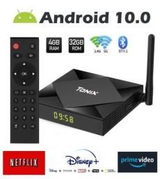 TvBox Tânix TX6S com 4gb RAM e 32gb ROM Dual WiFi Tela 4k Smart Tv