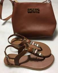 Sandália Schutz + Bolsa