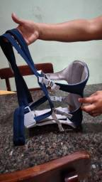 Canguru Ergonômico Baby Carriers Azul