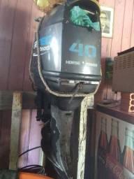 Motor powertec 40hp
