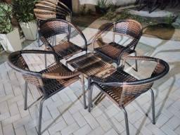 Cadeira Vitória Jogo no Crediário