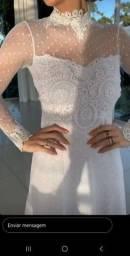 Vestido noiva midi