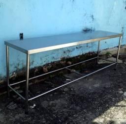 Mesas em Aço Inox. Nikit Inox.