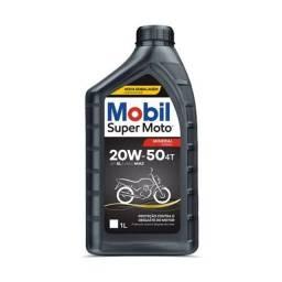 ÓLEO MOBIL 20W50 SUPER MOTO R$19,99 P/5CXS*