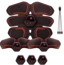 Sensação: Estimulador USB Recarregável Abs Braço Pernas, Abdominal Toner Training Belt