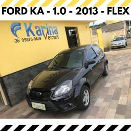 Ford Ka - 1.0 - 2013 - Flex - Carro está Impecável!!!