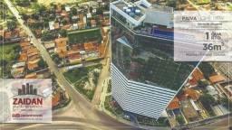 Apartamento mobiliado com 36m², 01 quarto, no edifício Paiva Home Stay - Barra de Jangada