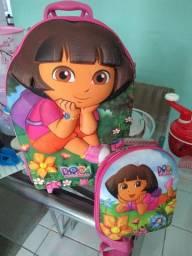 Título do anúncio: Kit de mochila e lancheira escolar,