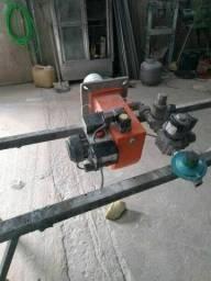 Queimador industrial a gás