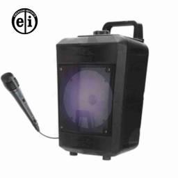 Entrega grátis - Caixa de Som Bluetooth Inova RAD-9022 com microfone
