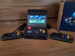 Mini Arcade fliperama com 3 mil jogos