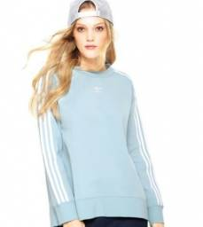 Moletom Adidas Originals Azul claro (Novo)