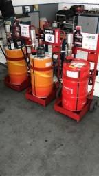 Bomba pneumática e carrinho para troca de óleo Motul