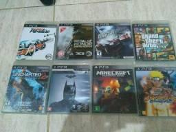 Jogos de PS3 50R cada
