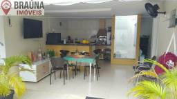 Casa Duplex em condomínio fechado toda projetada com 3 suítes 208 m² lazer completo