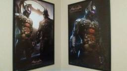 Quadro Batman Arkham Knight Oficial DC FP3762 e FP 3733