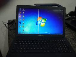 Notebook ASUS tela 15,6 p Processador AMD E1-2100 dual Core