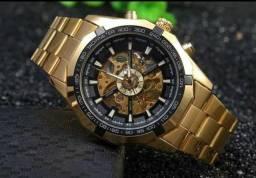 f8a3a9d36ce Relógio Winner Automático Original Aprova d água