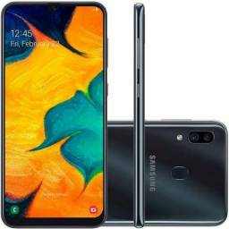Smartphone Samsung Galaxy A30 64g Preto