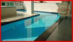 Apartamento com 3 dormitórios à venda, 118 m² por R$ 475.000,00 - Vila Guilhermina - Praia
