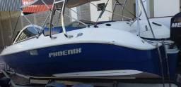 Lancha Phoenix 23 pés motor 150 hp Mercury optmax 2011 - 2011