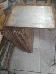 Bandejão pra padaria alumínio usada