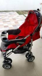 Vendo carrinho de bebê + bebê conforto + suporte para carro