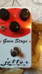 Pedal De Guitarra Jetter Gain Stage Red
