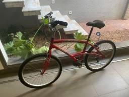 Bicicleta Caloi 21v alumínio