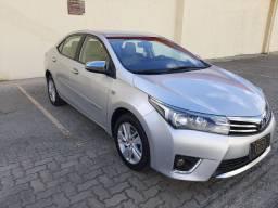 Corolla GLi 1.8 Prata 2015 Extra!!!
