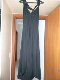 Vestido de Festa Midi, Frente Única