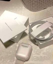 AirPods  2 Apple original + case carregamento indução Baseus