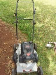 Cortador de grama a combustível barbada