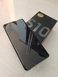Galaxy s10 128G zero sem uso!!!