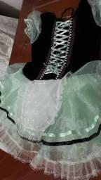 Vestido camponesa 8 anos