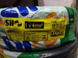 Vendo rolo de cabo 4 mm marca Sil  não abaixo preço