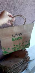 Vendo Sacolas ideais para lanchonetes e restaurantes delivery.