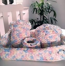 Kit higiene para bebê ou banheiro