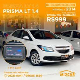 Prisma lt 1.4 2014! completo!