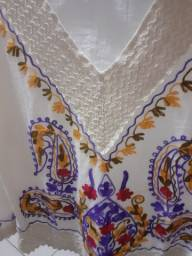 Blusa de algodão cru